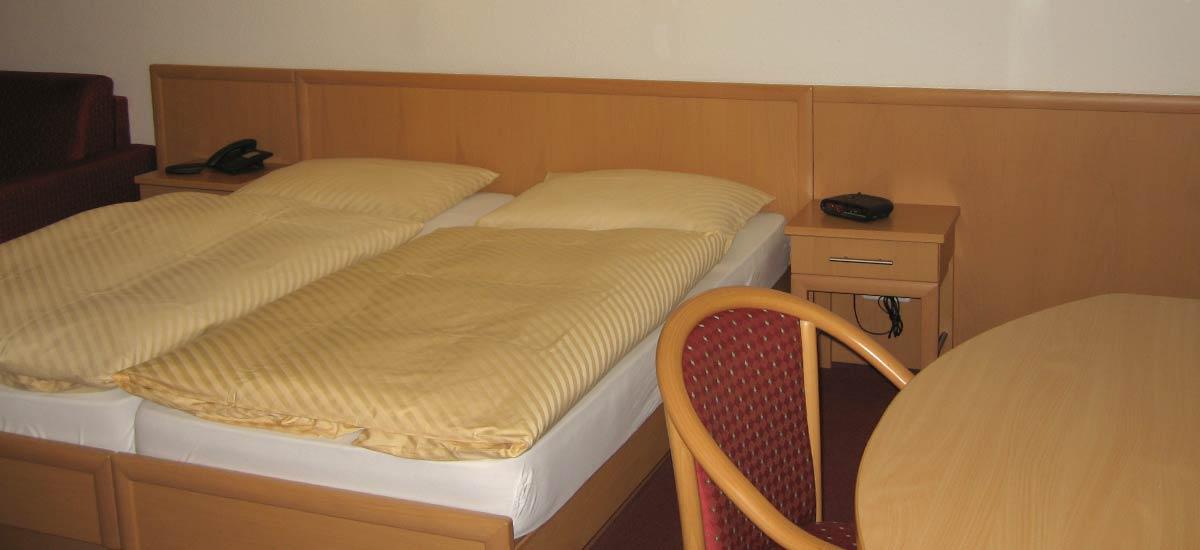 Ruhig gelegene Zimmer für Ihre Entspannung